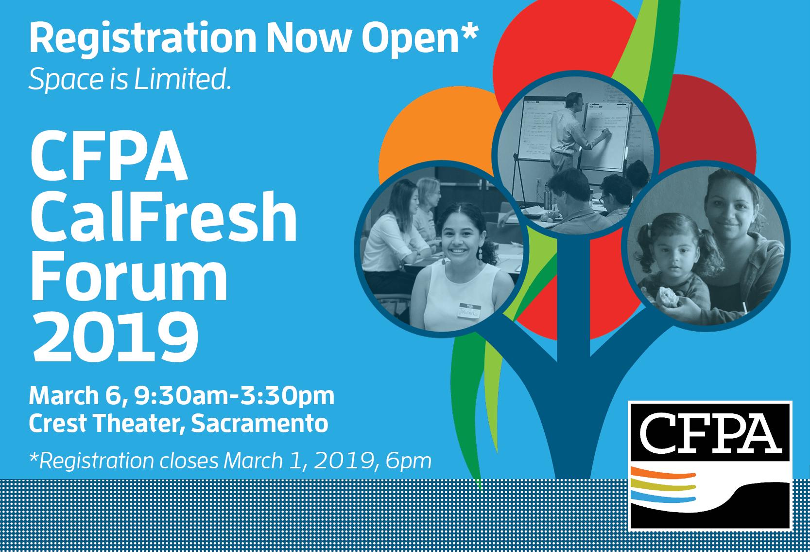 CalFreshForum-RegOpen-2019