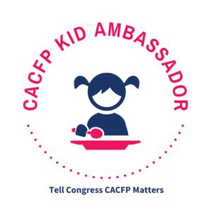 CACFP Kid Ambassador Logo